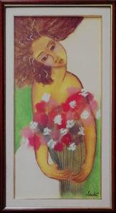 Ladì – Donna con fiori