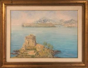 Luciano Valeriani – Veduta dell'isola di Dino