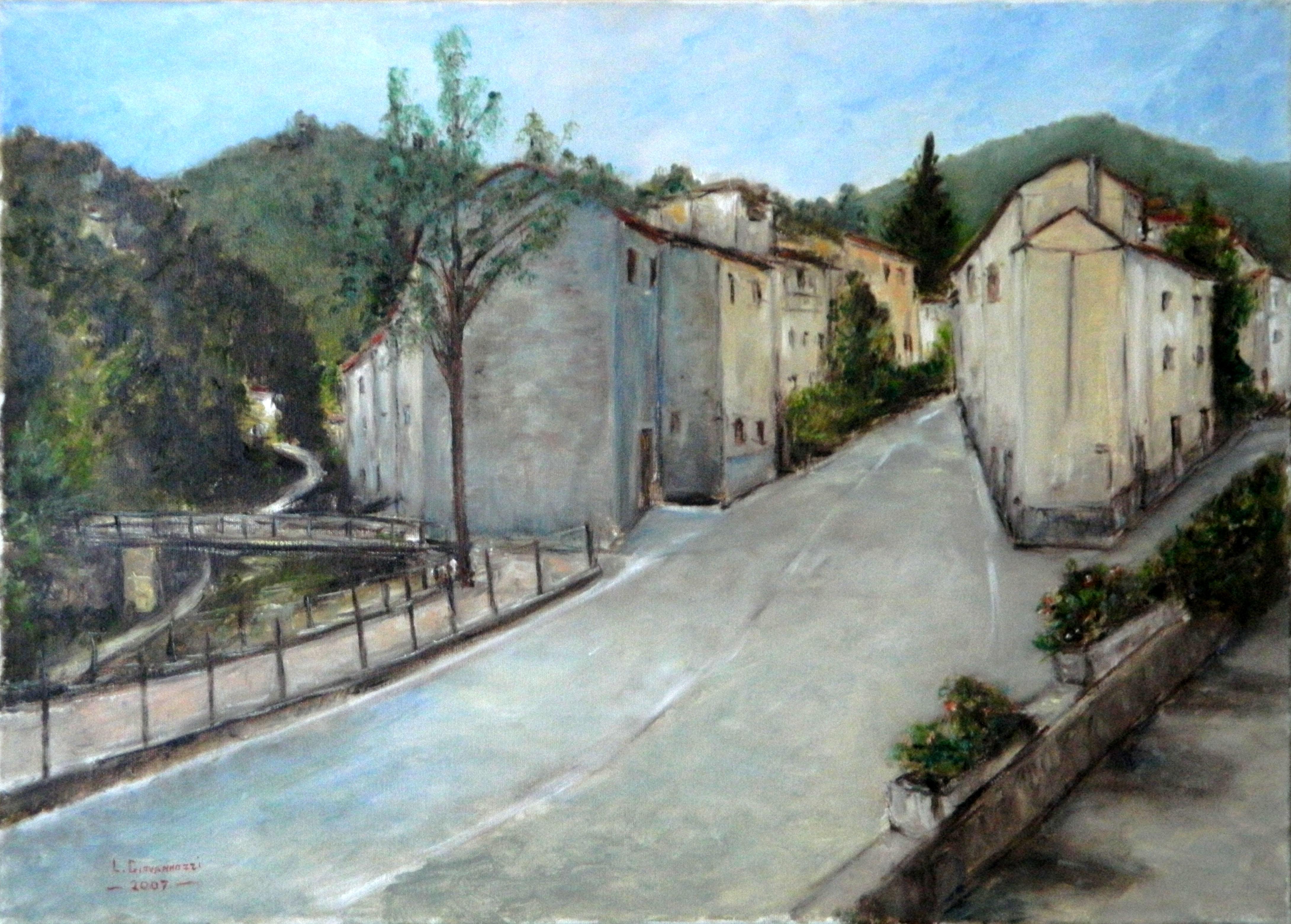 Luciano Giovannozzi – SCORCIO FONTEBUONA (PROV. FIRENZE)