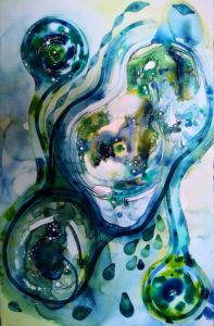 Ilaria Finetti – Torquoise Motion 2