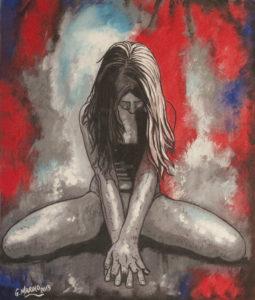 G. Marino – Donna dopo violenza