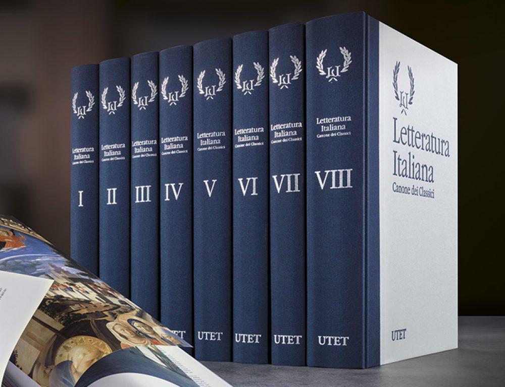 Letteratura Italiana canone dei classici – Utet