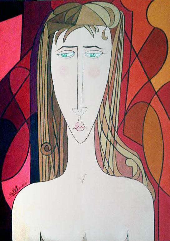Billeri Sergio – Ritratto di ragazza