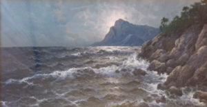 Piero Calandra – Mareggiata