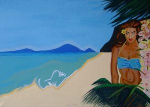 Gloria De Marco – LAGUNA – MISS TAHITI, Omaggio a Paul Gauguin