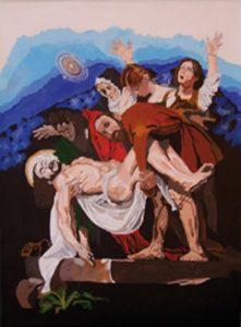 Gloria De Marco – DEPOSIZIONE DEL CRISTO – SPAZIO TEMPO