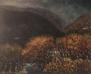 Aristodemo Capecchi – Paesaggio marchigiano