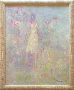 Pietro Pirina – Donna e il fiore 1