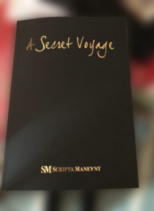A Secret Voyage – Scripta Maneant