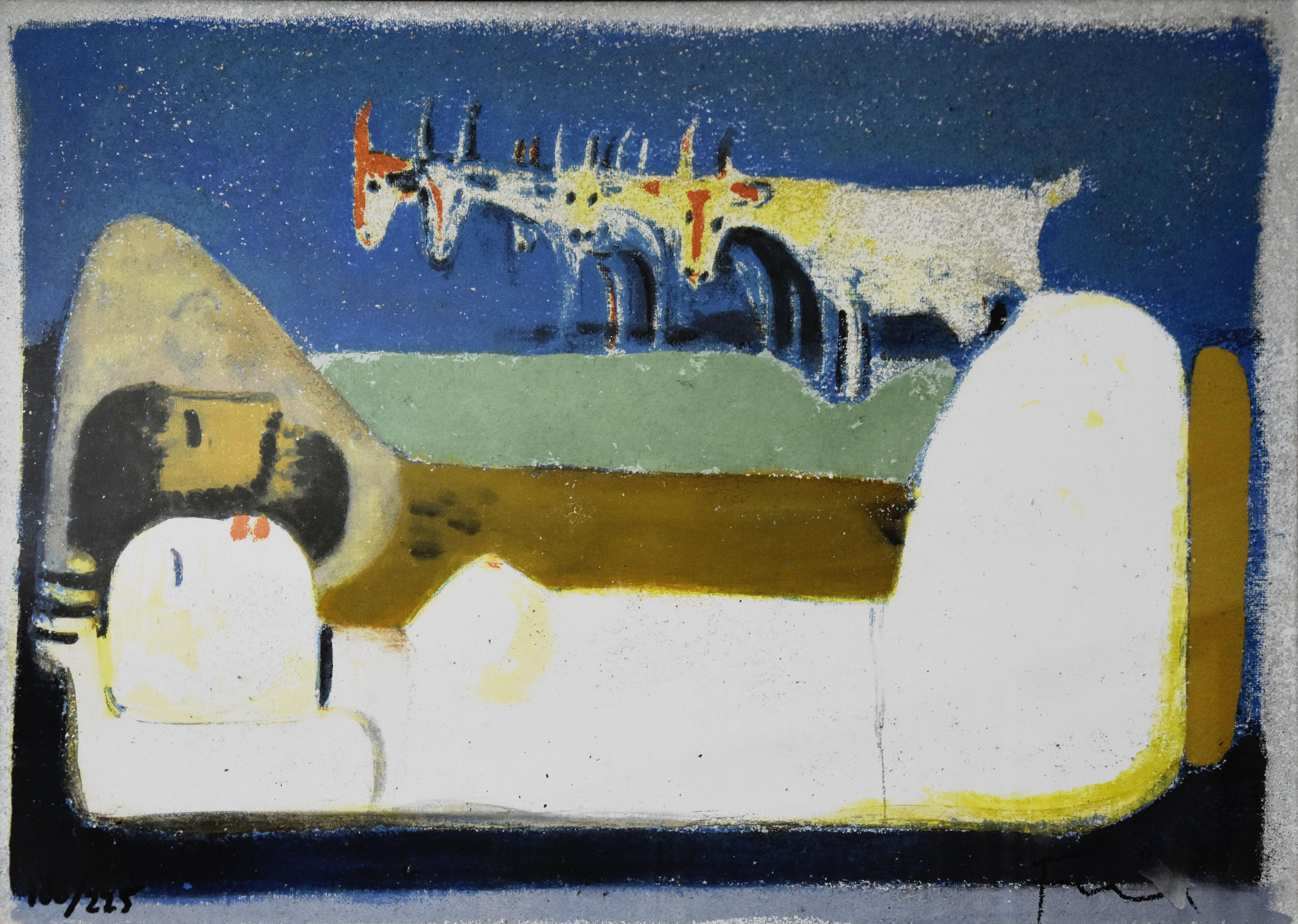 Salvatore Fiume – Il riposo dei pastori