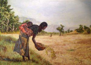 Cesare Figuccio – La donna con bambino