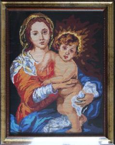 Eudochia Cociu – Madonna con bambino