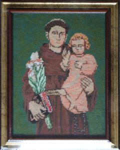 Eudochia Cociu – Sant'Antonio con bambino