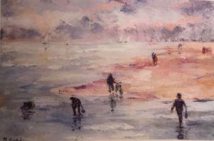 Maria Gloria Gaddi – Spiaggia invernale