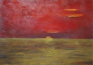 Paolo Catelani – Tramonto sul Mare