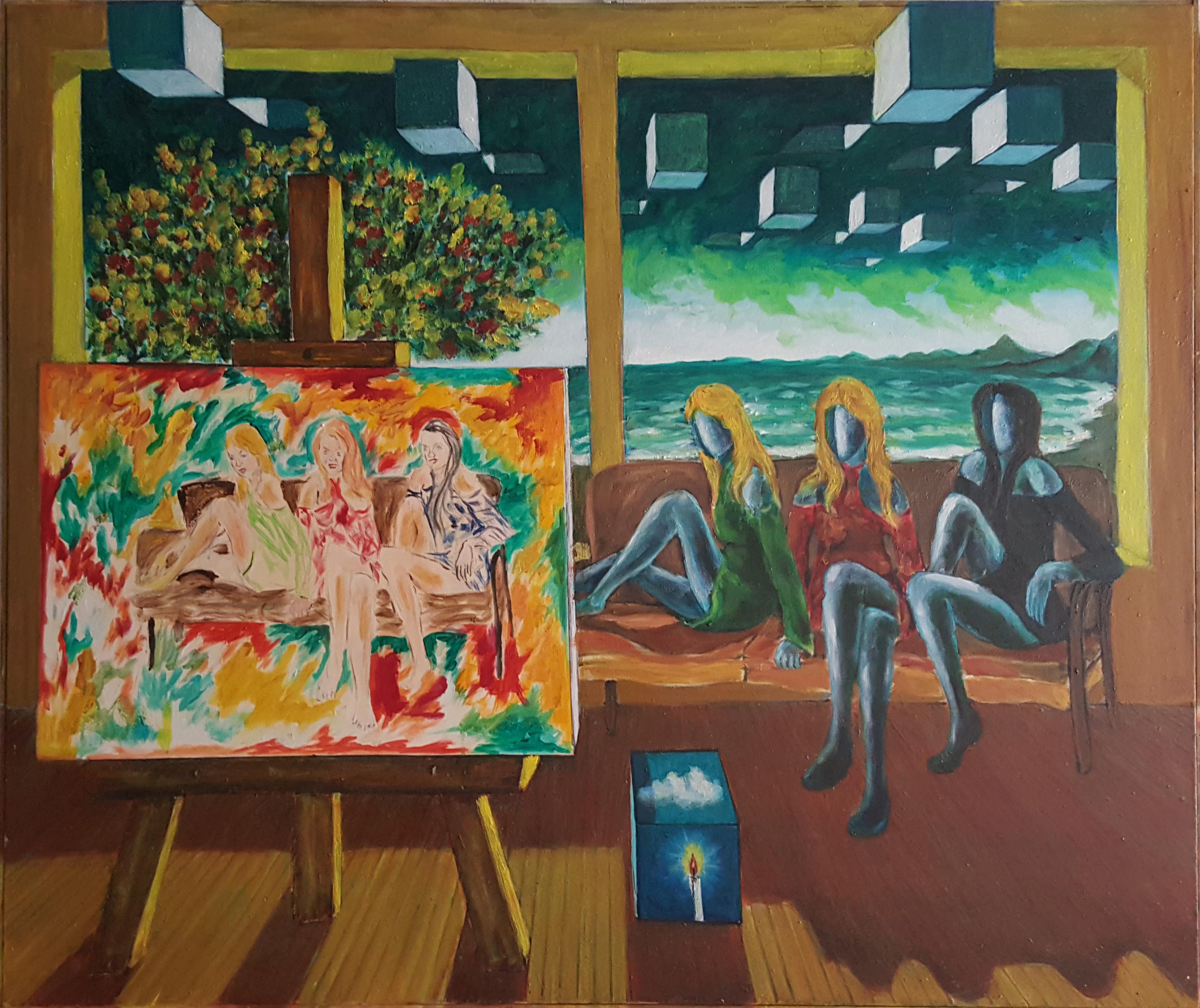 David Larry Neddini – Le ragazze del pittore povero