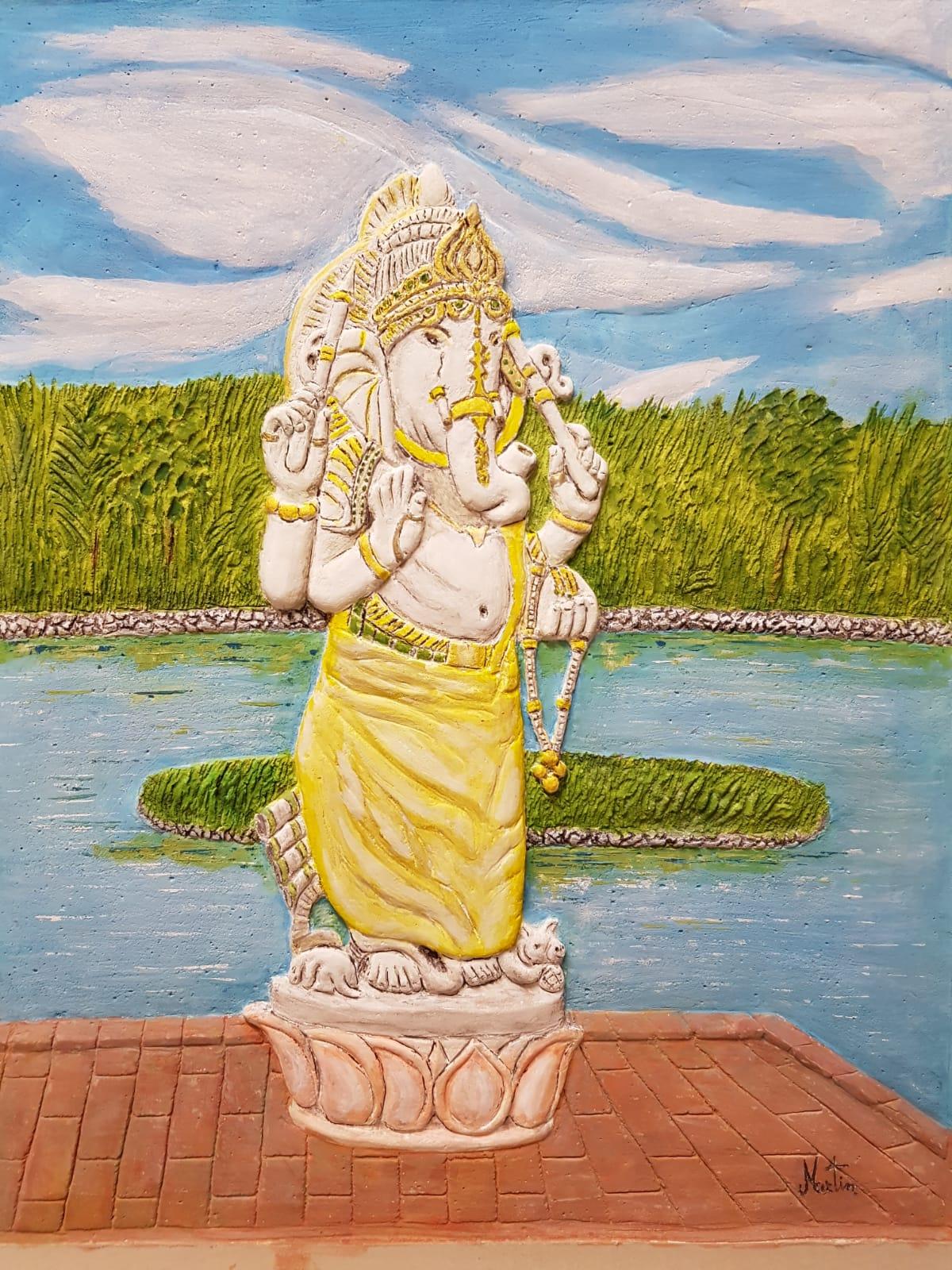 Martin Raffaele – Ganesh, divinità del Ganga Talao