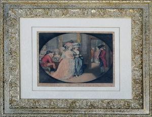 John Raphael Smith – La passeggiata a Carlisle House