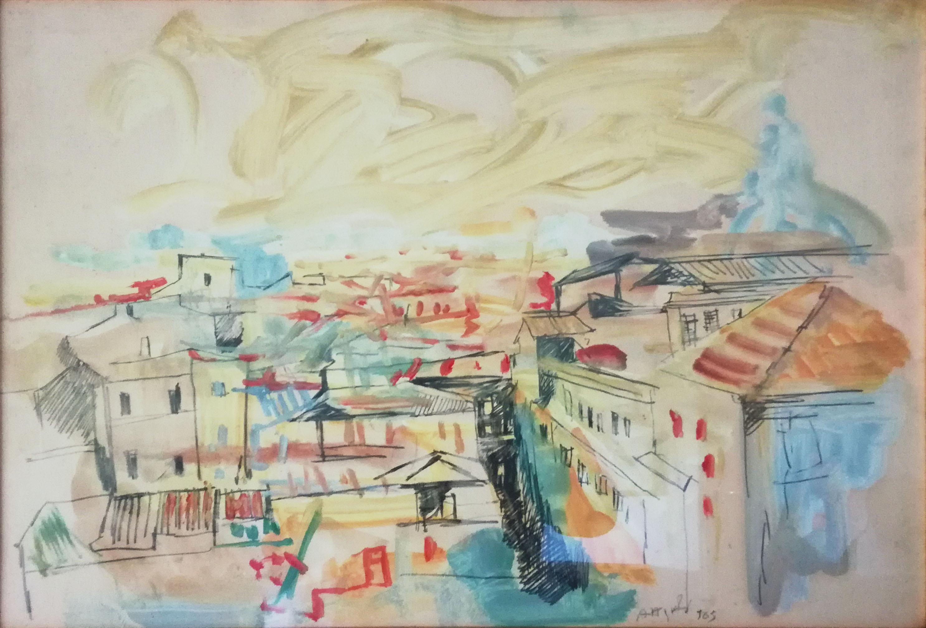 Ugo Attardi – Paesaggio
