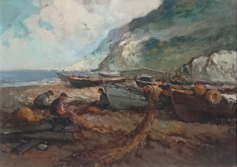 F. Ferrarese – Pescatori