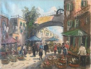 Artista sconosciuto – Mercato