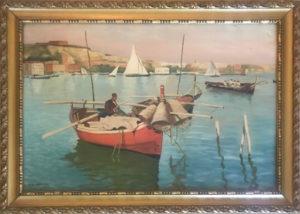 M. Lollobrigida – Barca con nasse