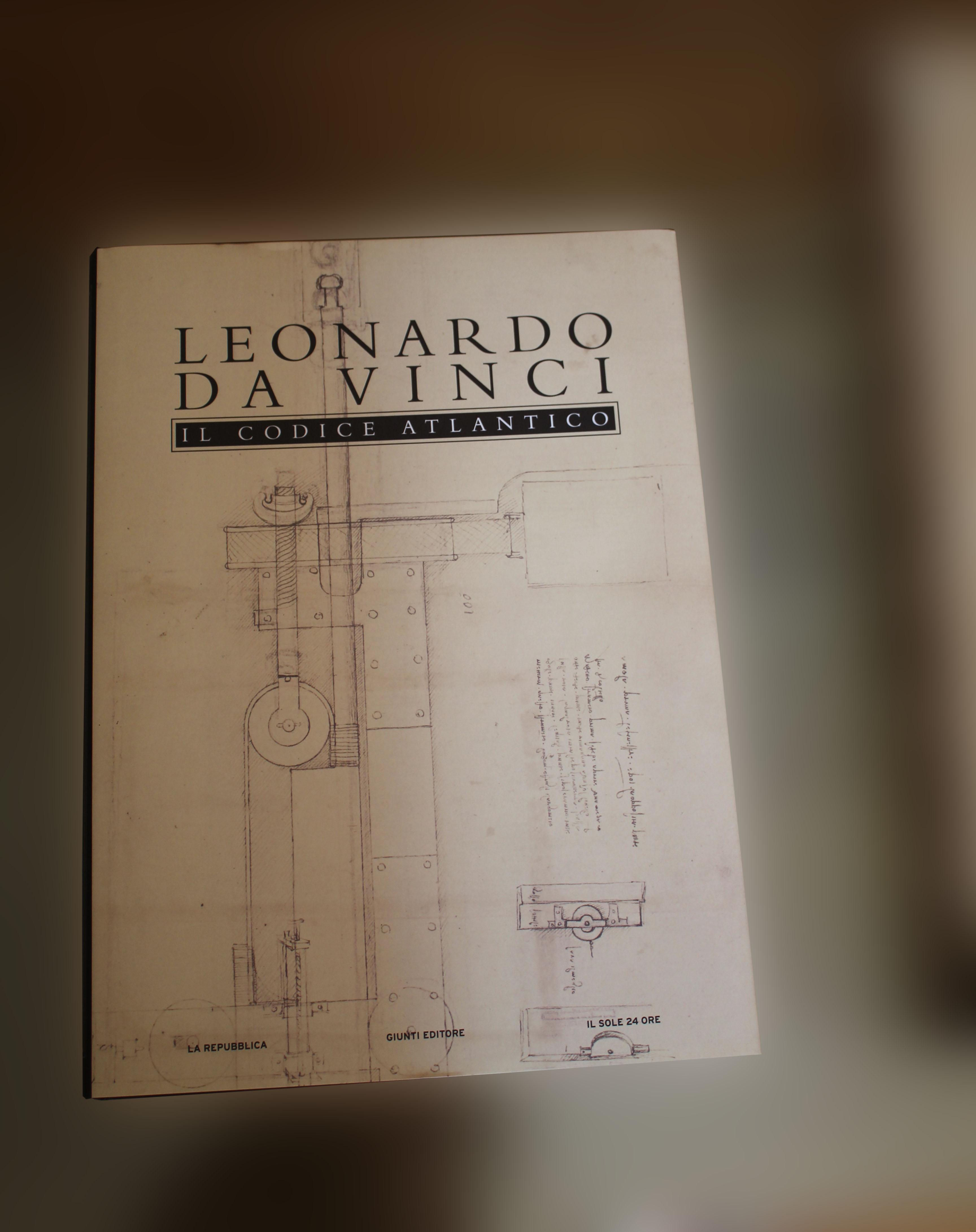 Codice Atlantico di Leonardo Da Vinci – Giunti Editore