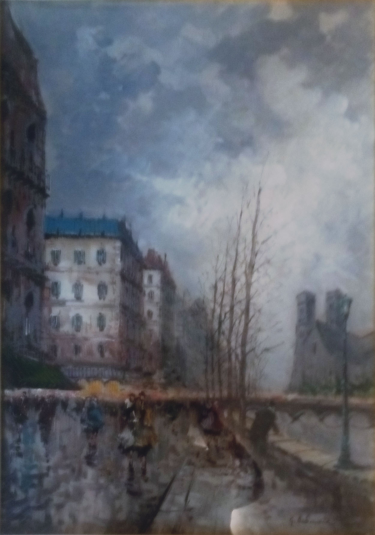 Giulio De Simone – Veduta di Parigi