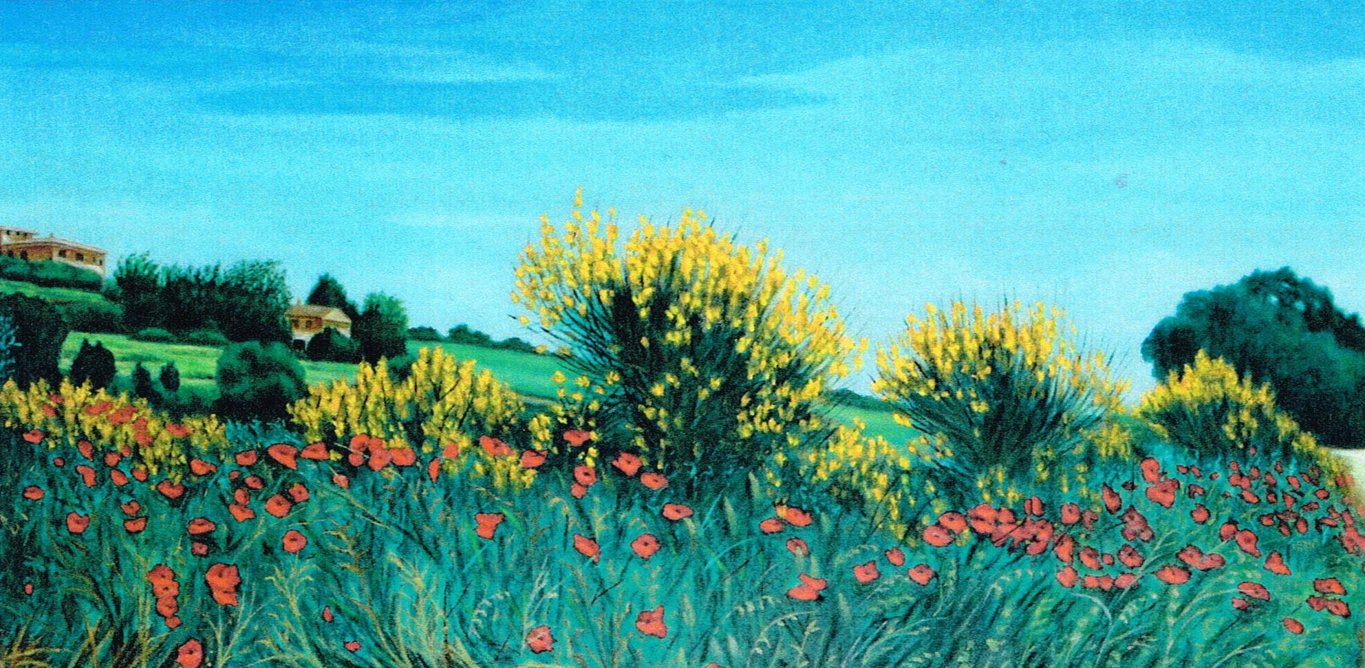 Vincenzo Carboni – Paesaggio di campagna