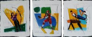 Ugo Nespolo – Olimpiadi