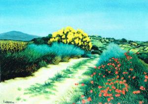 Vincenzo Carboni – Strada di campagna