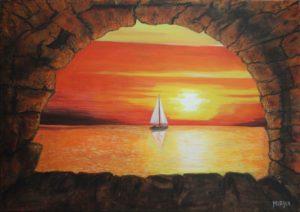 Mirka Basso – Tramonto sul mare