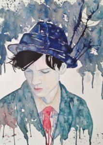 Alice Cappellari – Uomo con cappello