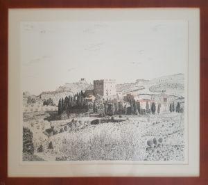 Cesare Laschi – Val d'Orcia – Ripa d'Orcia