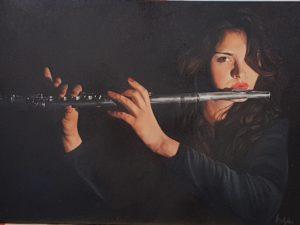 Maria Pina Costanzo – La flautista