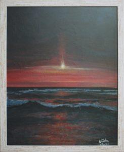 Mirka Basso – Mare al tramonto