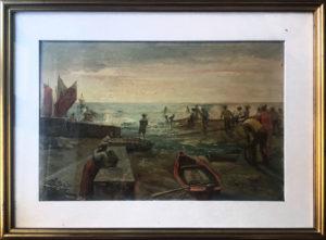 Artista sconosciuto – Pescatori a riva