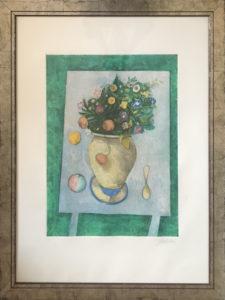 Gentilini – Vaso di fiori in giardino