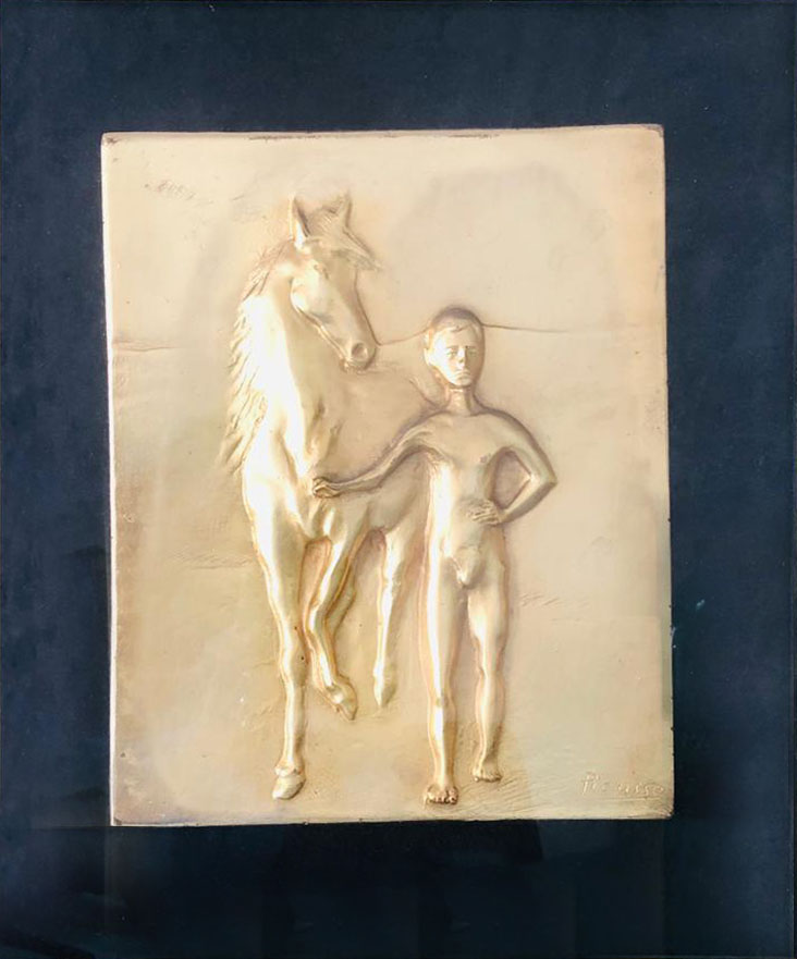 Da Pablo Picasso – Ragazzo e cavallo