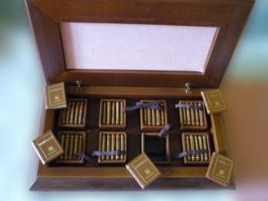 Corpo quattro libri d'arte in miniatura – Editalia