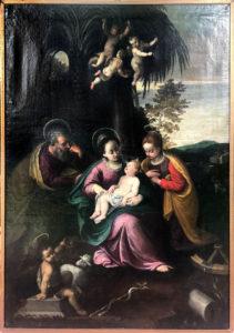 Attribuita Ludovico Carracci – Fuga dall'Egitto di Santa Caterina