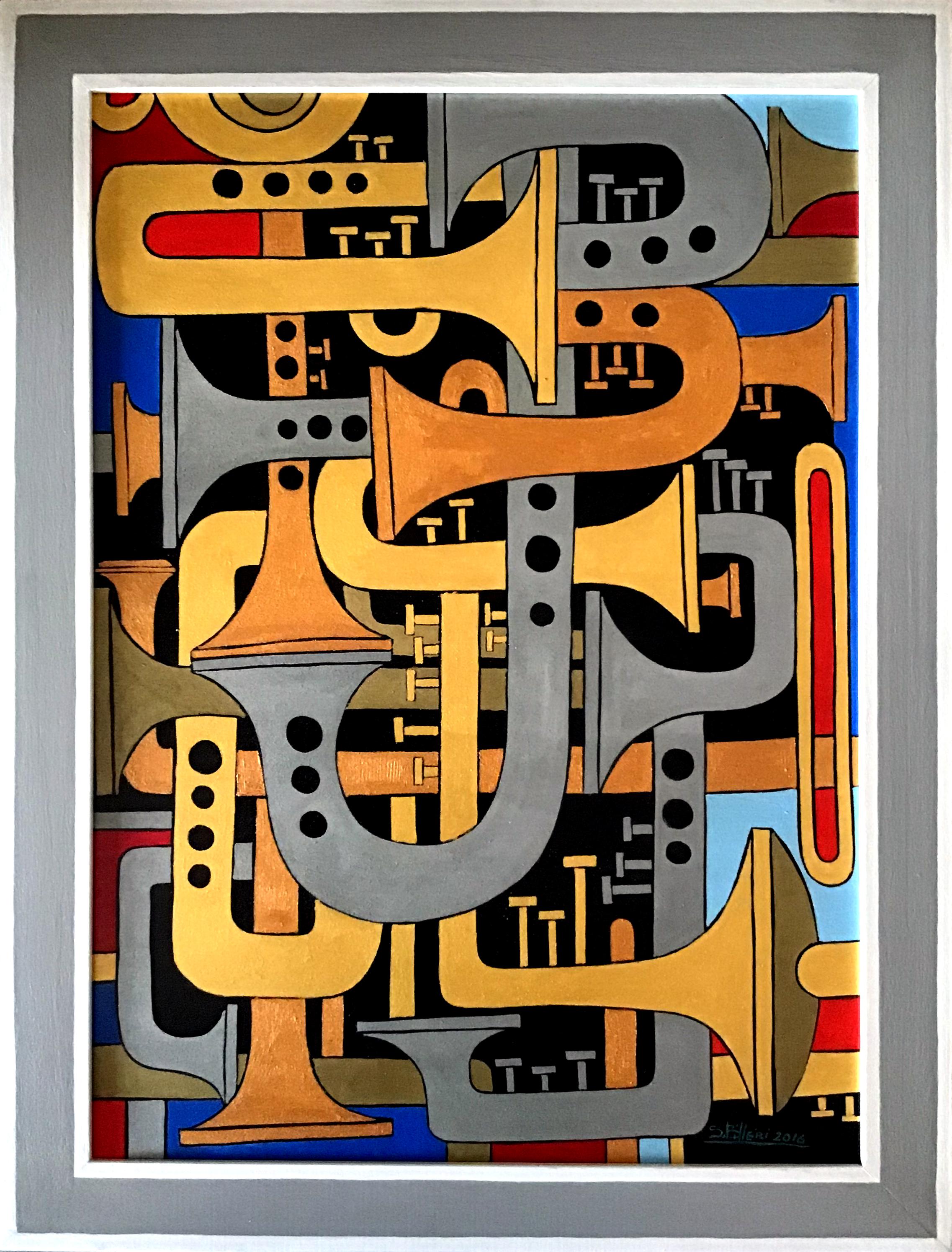Sergio Billeri – Composizione 7 – Gli ottoni
