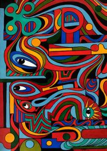 Sergio Billeri – Composizione 10 – Occhi