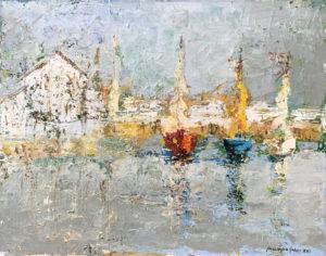 Massimo Gozzi – Porto con barche