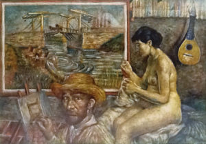 Roberto Sguanci – Van Gogh il ponte levatoio di Langlois