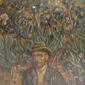 Roberto Sguanci – Van Gogh nel campo degli iris