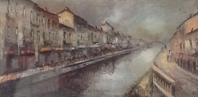 Eugenio Mantegani – Naviglio Grande