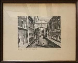 Giuseppe Mario D'Amico – Venezia, il Ponte dei Sospiri