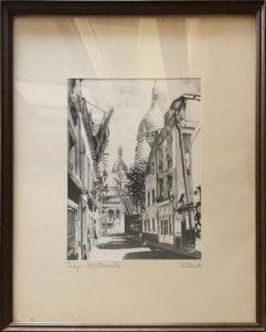 Giuseppe Mario D'Amico – Parigi, Montmartre