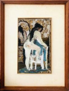 Salvatore Fiume – Nudo di donna
